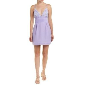 NWT Free People We Go Together Lilac Dress $250